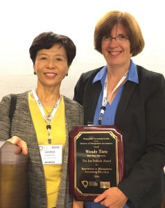 photo of Wendy Tietz with Joanna Ho