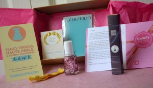 Birchbox March 2012 Teen Vogue Edition