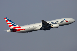 Picture of American Airlines plane