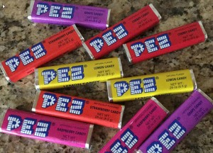 Photo of PEZ candies