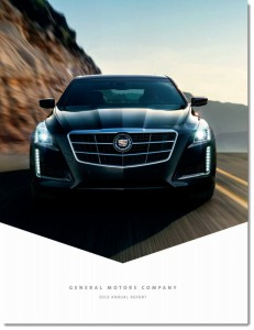 Cover of the GM Annual Report