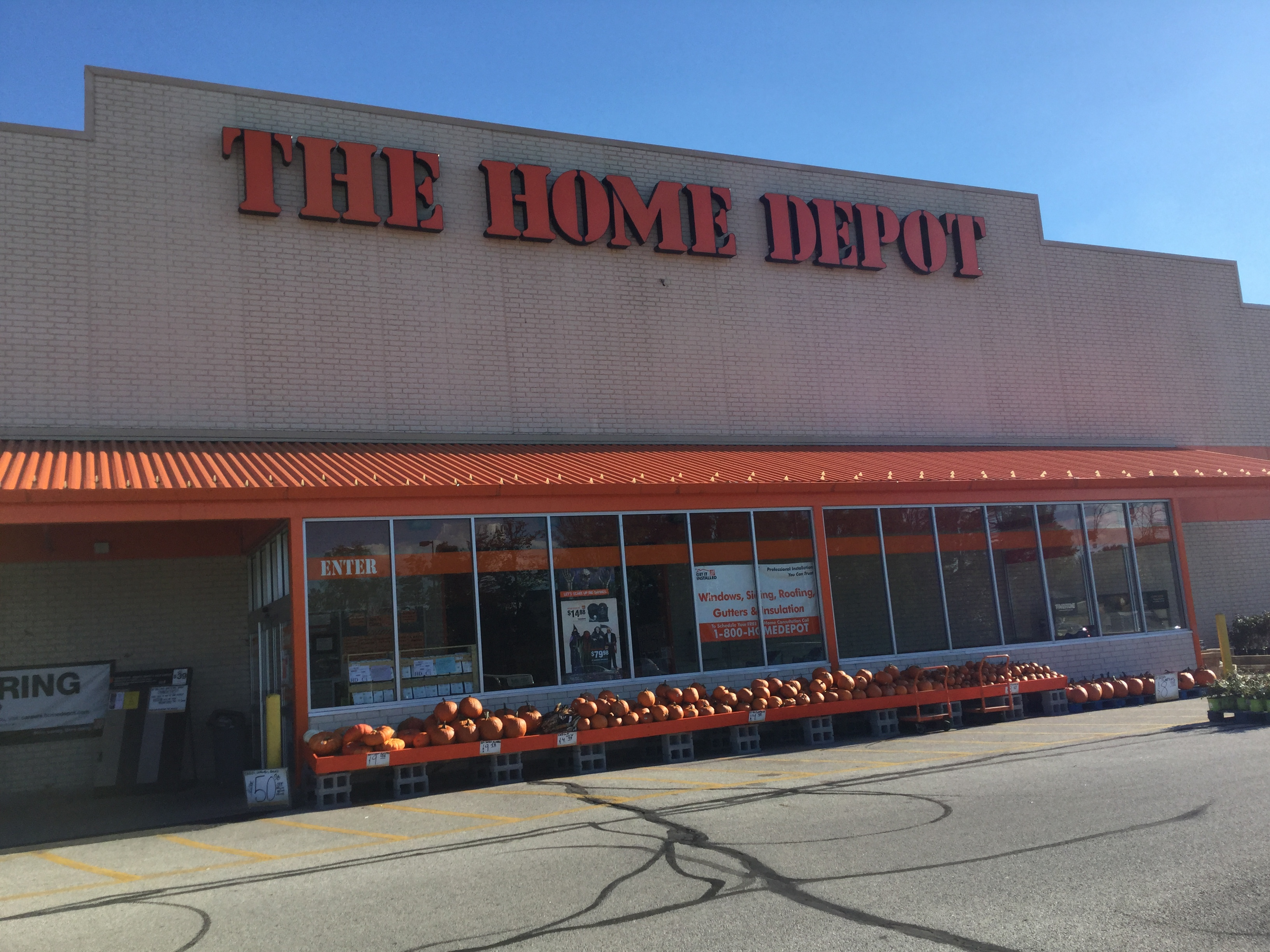 What Does Home Depot S 2015 Form 10 K Communicate About