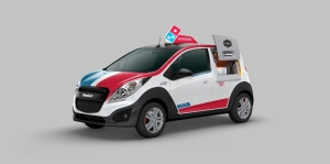 Photo of Domino's Pizza Delivery Vehicle