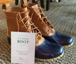 A photo of LL Bean boots