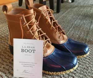 A photo of LL Bean boots