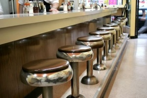 Photo of diner stools