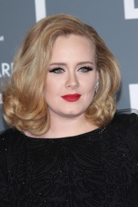 photograph of adele