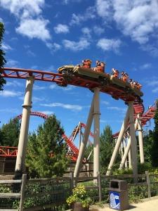 photo of valravn roller coaster