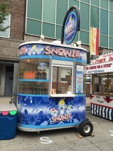 Photo of Snowie snow cone cart