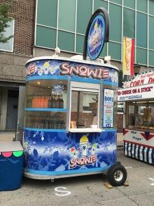 Photo of Snowie snow cone cart