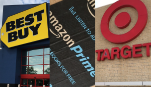 photo of target and best buy stores