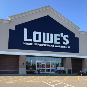 Photo of a Lowe's home improvement store in Streetsboro, Ohio