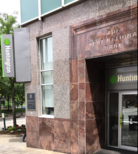 Photo of Huntington bank office