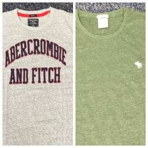 Photo of two shirts from Abercrombie