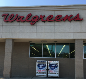 Photo of the exterior of a Walgreens store