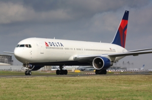 Photo of a Delta jet