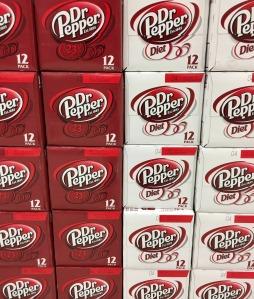photo of dr pepper 12 packs of soda