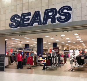 Photo of a Sears store