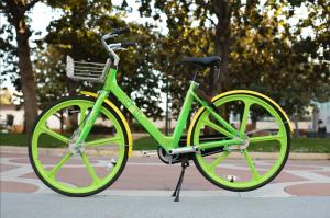 photo of lime green bike