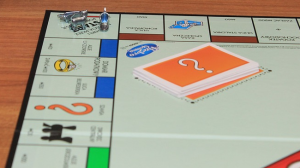 Photo of Monopoly game board