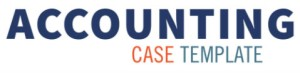logo including Accounting Case Template