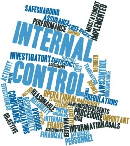abstract word cloud for internal control with related tags and terms