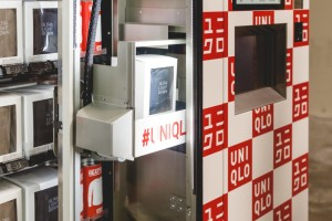 Photo of a Uniqlo vending machine