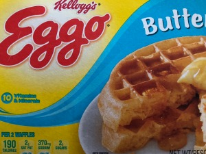 Box of Eggo waffles