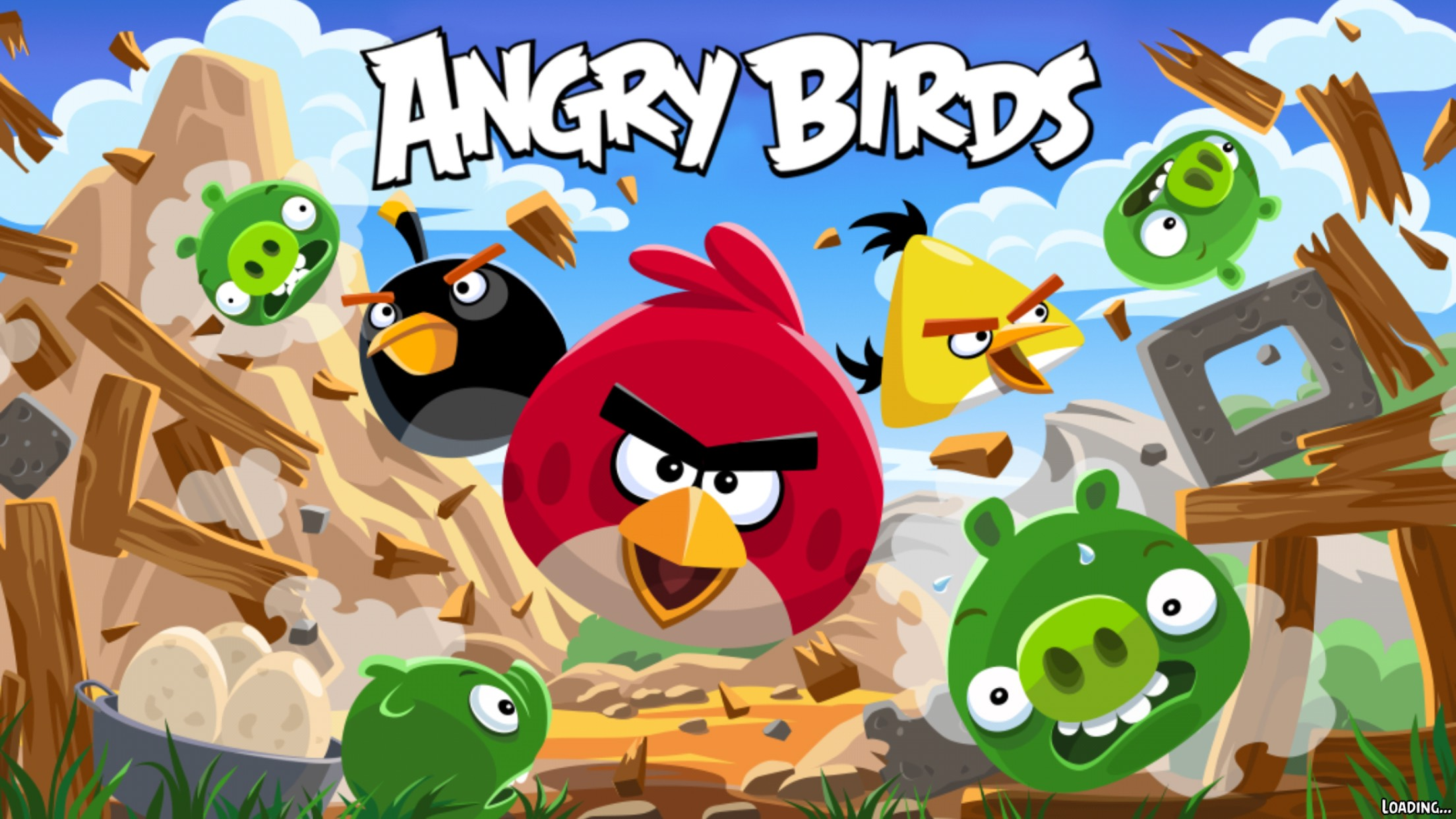 how is the balance sheet of rovio the maker of angry birds