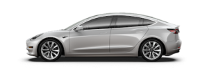 Model 3 sedan