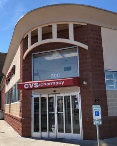 Photo of a CVS store exterior