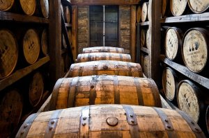 photo of casks of whiskey